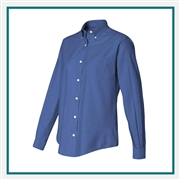Van Heusen Women's Oxford Shirt with Custom Embroidery, Van Heusen Custom Dress Shirts, Van Heusen Custom Logo Apparel