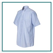 Van Heusen Men's Short Sleeve Oxford Shirt with Custom Embroidery, Van Heusen Corporate Dress Shirts, Van Heusen Promotional Apparel