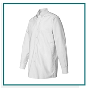 Van Heusen Men's Pinpoint Oxford Shirt with Custom Embroidery, Van Heusen Custom Dress Shirts, Van Heusen Custom Logo Apparel