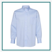 Van Heusen Men's Ultimate Shirt Non-Iron Flex Collar Shirt with Custom Embroidery, Van Heusen Custom Dress Shirts, Van Heusen Custom Logo Apparel