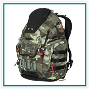 Oakley Kitchen Sink Backpack 92060AODM with Custom Embroidery, Oakley Custom Backpacks, Oakley Corporate Logo Gear
