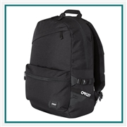 Oakley Street Backpack 20L 921417ODM with Custom Embroidery, Oakley Custom Backpacks, Oakley Corporate Logo Gear