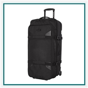 Oakley Vacationer Large Roller 115L 92868ODM with Custom Embroidery, Oakley Custom Roller Bags, Oakley Corporate Logo Gear