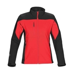 Stormtech Women's Edge Softshell Jacket BHS-2W with Custom Embroidery, Stormtech Custom Softshell Jackets, Custom Embroidered Stormtech Jackets