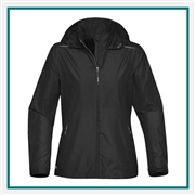 Stormtech Women's Nautilus Performance Shell KX-1W with Custom Embroidery, Stormtech Nautilus Performance Shell Jacket KX-1W, Stormtech Custom fleece Jackets, Custom Embroidered Stormtech Jackets