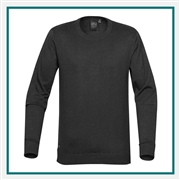 Stormtech Men's Laguna Crew Neck Sweater SCN-1 with Custom Embroidery, Stormtech Laguna Crew Neck Sweater, Stormtech Custom Sweaters, Custom Embroidered Stormtech Sweaters