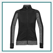 Stormtech Women's Lotus Full Zip Shell Jacket SPN-1W with Custom Embroidery, Stormtech Lotus Shell, Stormtech Custom Softshell Jackets, Custom Embroidered Stormtech Jackets