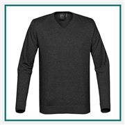 Stormtech Men's Laguna V-Neck Sweater SVN-1 with Custom Embroidery, Stormtech Laguna V-Neck Sweater, Stormtech Custom Sweaters, Custom Embroidered Stormtech Sweaters