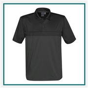Stormtech Men's Equinox Performance Polo with Custom Embroidery, Stormtech Equinox Performance Polo TM-1, Stormtech Custom Polo shirts, Custom Embroidered Stormtech polos