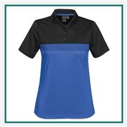 Stormtech Women's Equinox Performance Polo TM-1W  with Custom Embroidery, Stormtech Equinox Performance Polo, Stormtech Custom Polo shirts, Custom Embroidered Stormtech polos