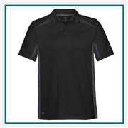 Stormtech Men's Match Two-Tone Technical Polo TXP-1  with Custom Embroidery, Stormtech Men's Match Two-Tone Technical Polo, Stormtech Custom Polo shirts, Custom Embroidered Stormtech polos