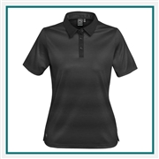 Stormtech Women's Vibe Performance Polo VP-1W  with Custom Embroidery, Stormtech Vibe Performance Polo Custom VP-1W, Stormtech Custom Polo shirts, Custom Embroidered Stormtech polos