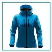 Stormtech Women's Expeditions Softshell Jacket with Custom Embroidery, Stormtech XB-2W Expedition Softshells, Stormtech Corporate softshell Jackets, Custom Embroidered Stormtech Jackets