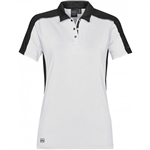 Stormtech Women's Optical Technical Polo with Custom Embroidery, Stormtech XKP-1W laser Polo, Stormtech Custom Polo shirts, Custom Embroidered Stormtech polos