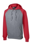 Sport-Tek Men's Colorblock Pullover Hooded Sweatshirt ST267, Sport-Tek Promotional Sweatshirts, Sport-Tek Custom Logo