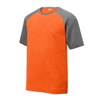Sport-Tek Men's Heather-On-Heather Contender Tee ST362, Sport-Tek Promotional Shirts, Sport-Tek Custom Logo
