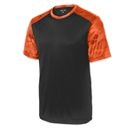 Sport Tek CamoHex Tee ST371 Customized