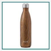 S'Well 25 Oz Wood Collection Bottle Engraved Logo