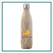 S'Well 25 Oz Wood Collection Bottle with Printed Logo, S'Well Custom Logo, Custom Printed S'Well, S'Well Corporate Gifts