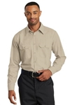 Red Kap Long Sleeve Solid Ripstop Shirt SY50, Red Kap Corporate Workwear, Red Kap Custom Logo Workwear