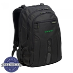 "Targus 15.6"" Spruce Ecosmart Checkpoint-Friendly Backpack TBB013US Embroidered"