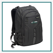 Targus 17'' Spruce Ecosmart Checkpoint-Friendly Backpack, Targus Promotional Backpacks, Targus Custom Logo