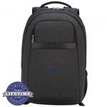 "Targus 15.6"" Citysmart Backpack TSB892 Embroidered Logo"