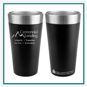 Tempercraft 16 Oz. Pint QBM16, Tempercraft  Custom Pints, Tempercraft Promo Tumblers