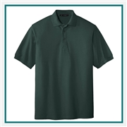 Port Authority Men's Tall Silk Touch Polo TLK500S with Custom Embroidery, Custom Logo Port Authority Polos, Embroidered Port Authority Polos, Embroidered Port Authority, Port Authority Embroidery