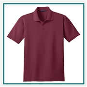 Port Authority Men's Tall Performance Stain-Resistant Polo TLK510 with Custom Embroidery, Custom Logo Port Authority Polos, Embroidered Port Authority Polos, Embroidered Port Authority, Port Authority Embroidery