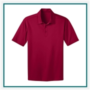 Port Authority Men's Tall Silk Touch Performance Polo TLK540 with Custom Embroidery, Custom Logo Port Authority Polos, Embroidered Port Authority Polos