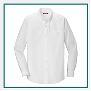 Red House Tall Pinpoint Oxford Shirt Custom Logo