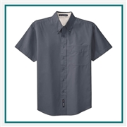 Port Authority Tall Short Sleeve Easy Care Shirt Custom