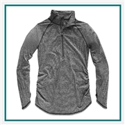 The North Face Women's Motivation Stripe 1/2 Zip Pullover A3LMA5FR with Custom Embroidery, The North Face Branded Fleece, The North Face Corporate & Group Sales