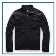 The North Face Men's TKA Glacier Full Zip Jacket Corporate Branding
