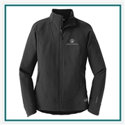 The North Face W Tech Stretch Soft Shell Full Zip Custom Embroidery