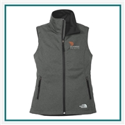 The North Face Ladies Ridgeline Soft Shell Vest NF0A3LH1 with Custom Embroidery, The North Face Custom Soft Shell Vests, The North Face Custom Logo Gear