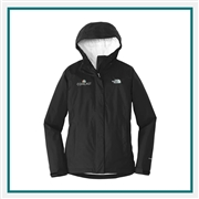 The North Face Ladies Dryvent Rain Jacket NF0A3LH5 with Custom Embroidery, The North Face Custom Rain Jackets, The North Face Custom Logo Gear
