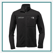 North Face Sweater Fleece Jacket Embroidered Logo