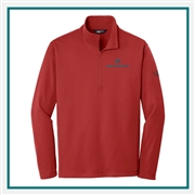 The North Face Men Tech 1/4-Zip Fleece Pullover with Custom Embroidery, The North Face Custom Pullovers, The North Face Custom Logo Gear