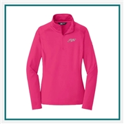 North Face Ladies Tech 1/4-Zip Fleece Pullover with Custom Embroidery, The North Face Custom Pullovers, The North Face Custom Logo Gear