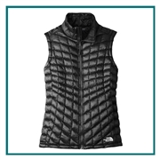 The North Face Ladies Thermoball Trekker Vest Custom Embroidery, The North Face Branded Insulated, The North Face Corporate & Group Sales