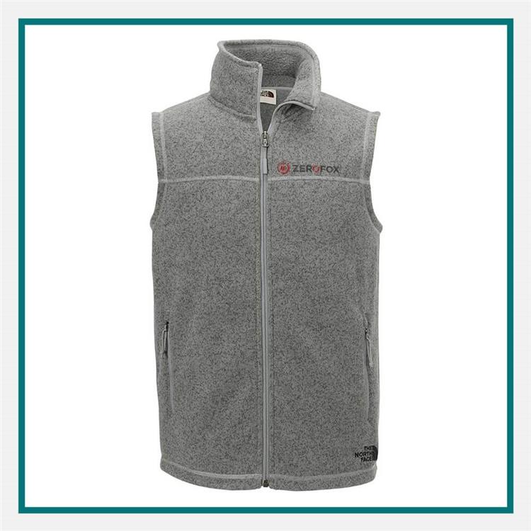 f388c21c5 North Face M Sweater Fleece Vest Custom | ELITE PROMO INC