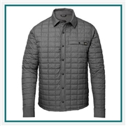 North Face M ThermoBall ECO Shirt Jacket Custom Embroidery