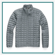 North Face Men's Thermoball Eco Jacket Ext Size Custom Embroidered