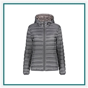 TUMI Pax Hooded Puffer Jacket Corporate Logo
