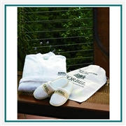 Cobblestone Mills Robe, Slippers & Gift Set Custom Embroidered