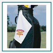 Towel Specialties 12 x 17 Turkish Cotton Signature Colored 'Fingertip' Golf Towel with Custom Embroidery, Towel Specialties Custom Beach Towels, Towel Specialties Corporate Logo Gear