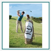 Towel Specialties 16 x 24 Microfiber White Links Golf Towel Printed Logo