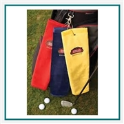 Towel Specialties 16 x 24 Turkish Cotton Signature Colored Midweight Golf Towel with Custom Embroidery, Towel Specialties Custom Beach Towels, Towel Specialties Corporate Logo Gear